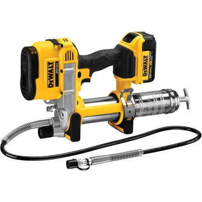 DeWalt 20 Volt MAX Lithium-Ion Cordless Grease Gun Kit