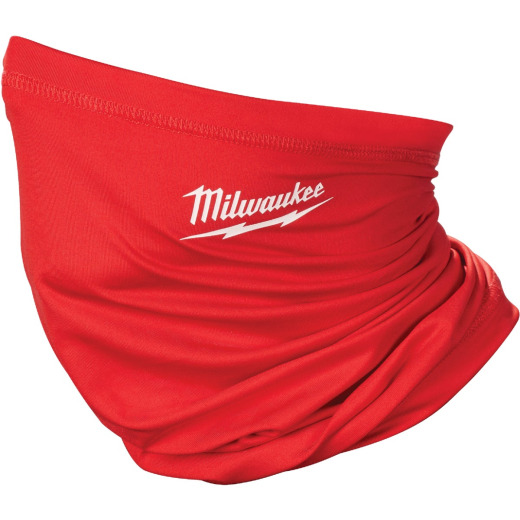 Milwaukee Washable Neck Gaiter, Red