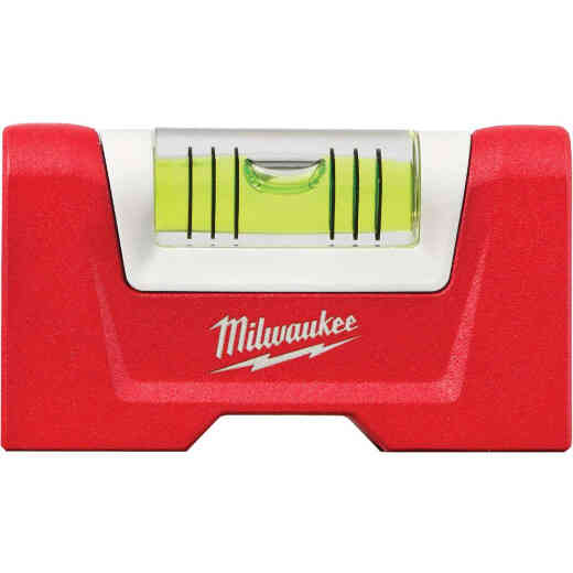 Milwaukee 3 In. Magnetic Pocket Level