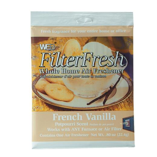 Web FilterFresh Furnace Air Freshener, French Vanilla