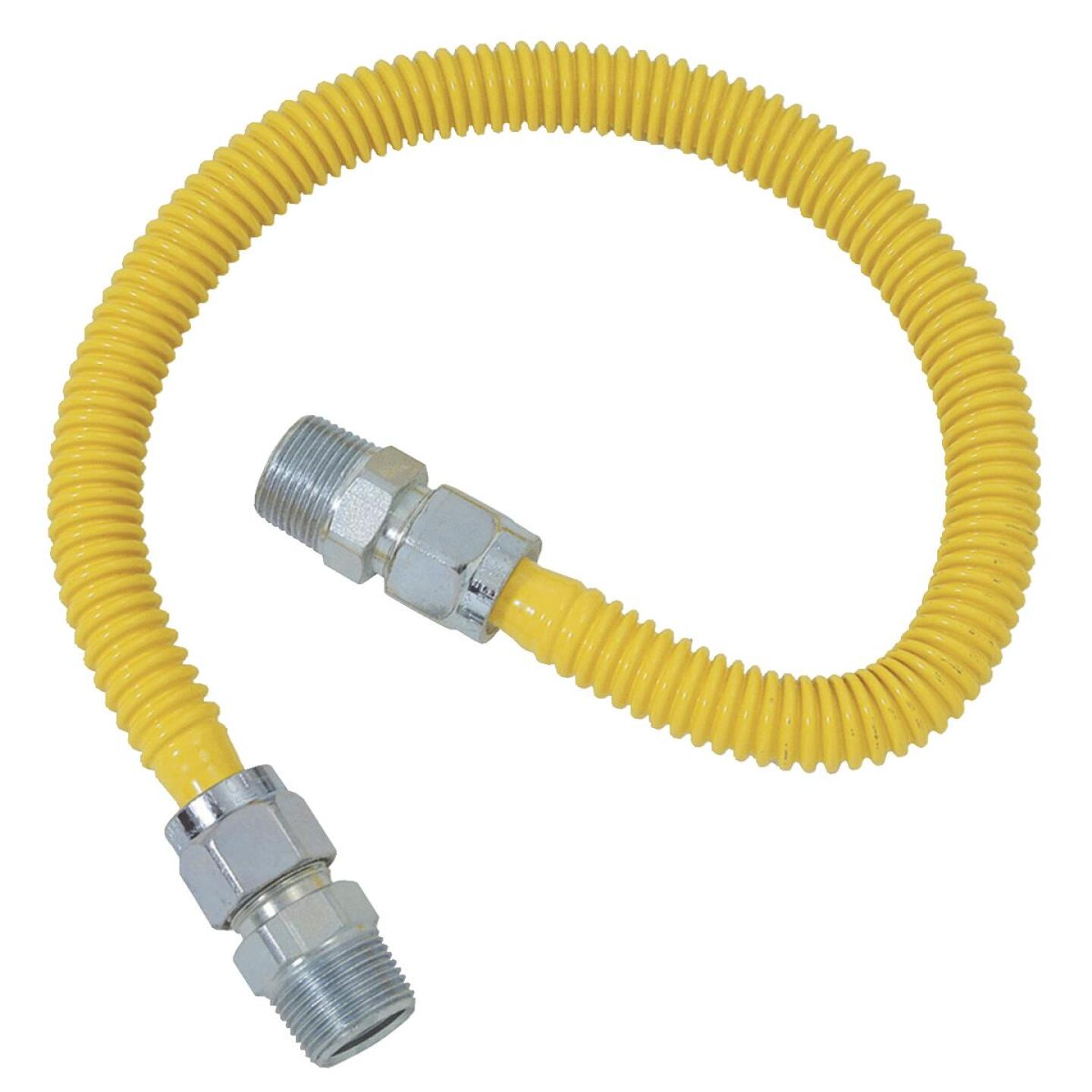 BrassCraft ProCoat 5/8 In. x 1/2 In. x 72 In. Gas Connector Image 1