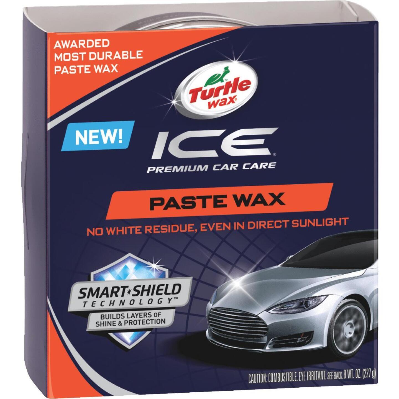 Turtle Wax ICE 8 oz Paste Car Wax Image 1