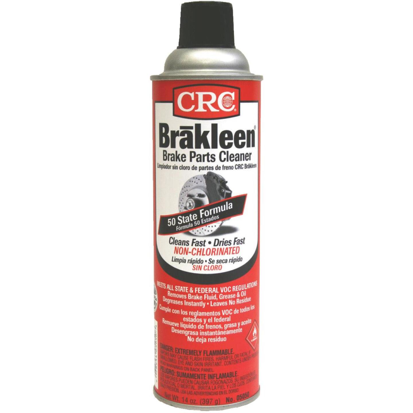 CRC Brakleen 14 Oz. Aerosol Non-Chlorinated Brake Parts Cleaner Image 1