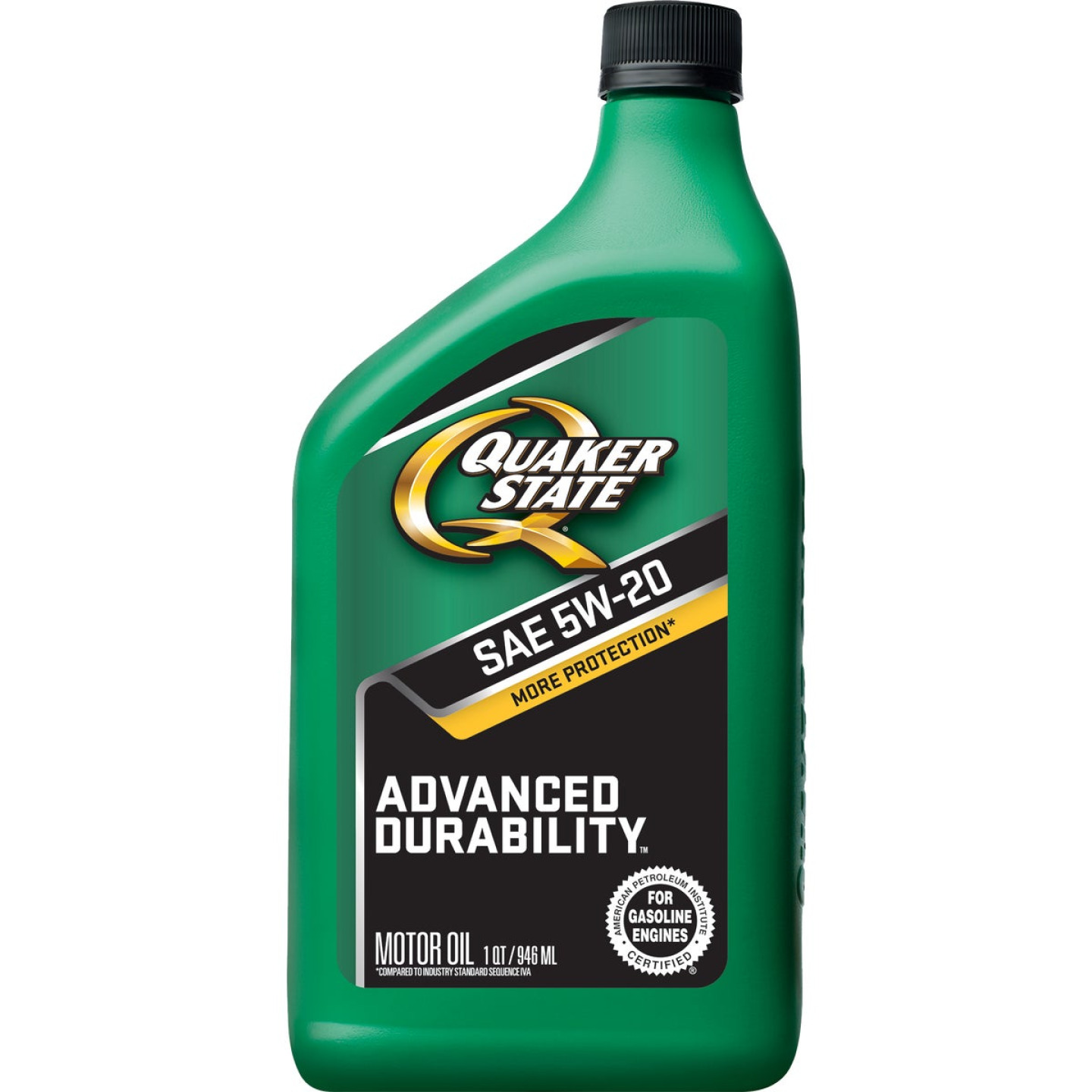 Quaker State Advanced Durability 5W20 Quart Motor Oil Image 1