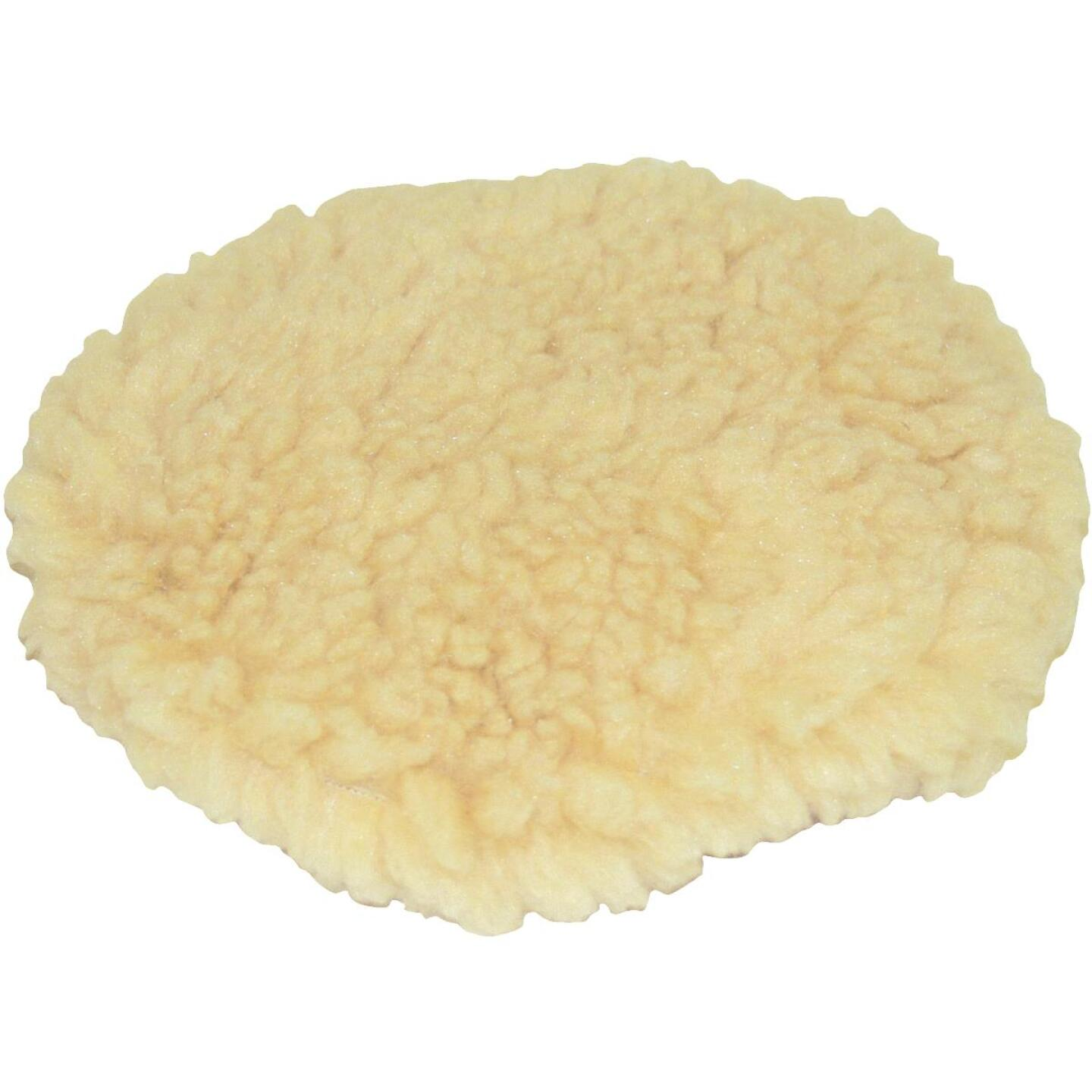 "Auto Spa 7"" To 8"" Washable Wool Polishing Bonnet Image 1"