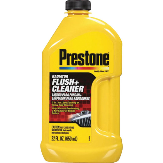Prestone 22 Oz. Radiator Flush + Cleaner