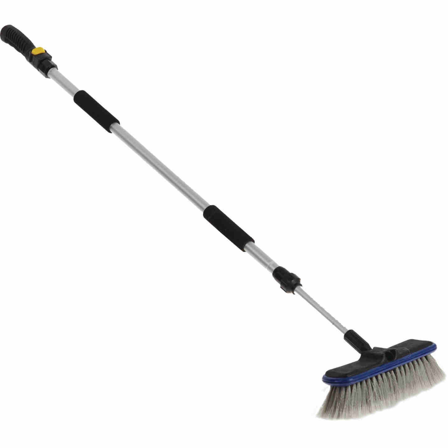 Viking 10 In. Deluxe Flo-Thru Wash Brush with 40 In. to 66 In. Telescoping Handle Image 3