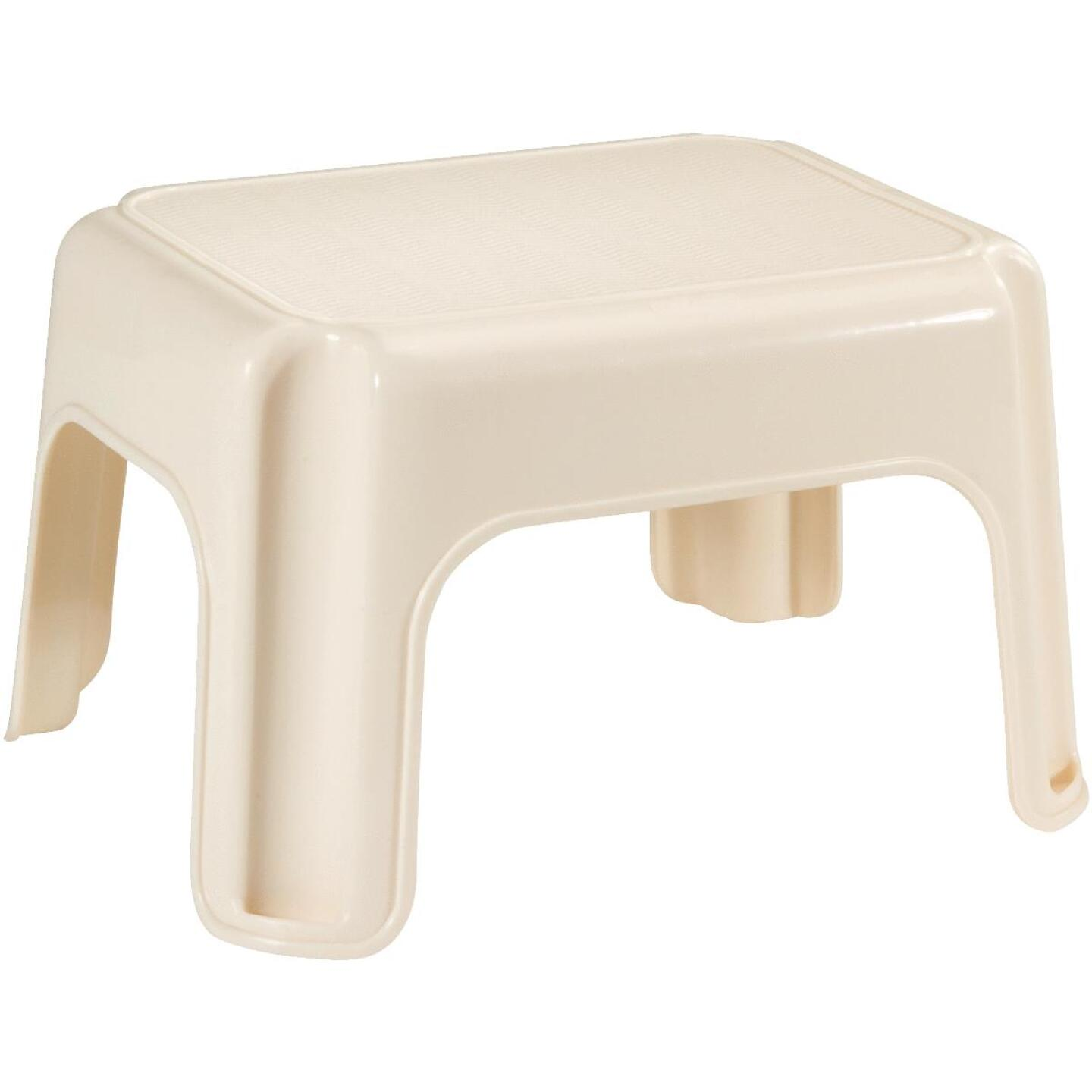 Rubbermaid Bisque 1-Step Stool Image 1