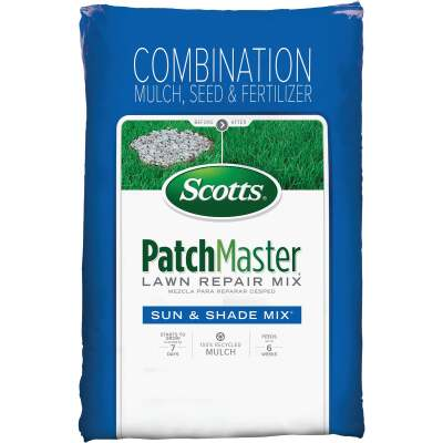 Scotts PatchMaster 10 Lb. 145 Sq. Ft. Bare Spot Coverage Sun & Shade Grass Patch & Repair