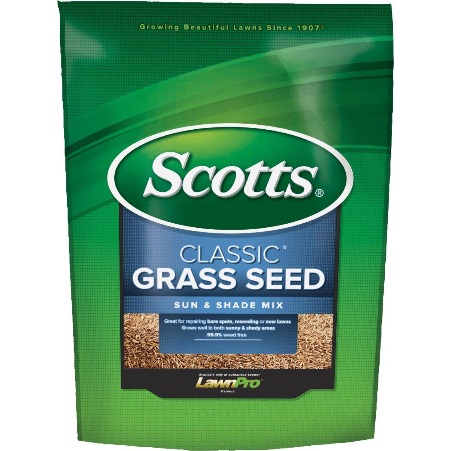 Scotts Classic 3 Lb. 1200 Sq. Ft. Coverage Sun & Shade Grass Seed Image 1