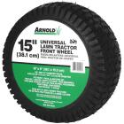 Arnold 15 In. Universal Lawn Tractor Mower Wheel Image 1