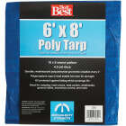 Do it Best Blue Woven 6 Ft. x 8 Ft. Medium Duty Poly Tarp Image 1