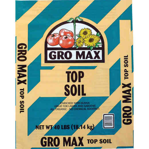 Gro Max 40 Lb. All Purpose Organic Top Soil