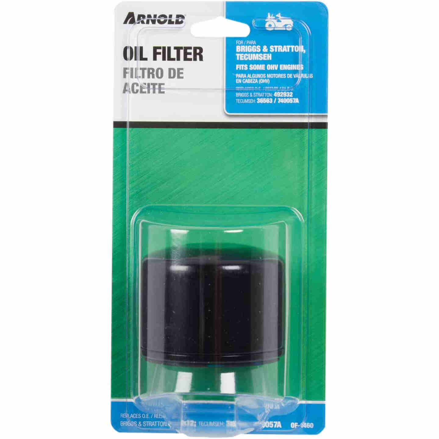 Arnold Oil Filter for Briggs & Stratton and Tecumseh OHV Engines Image 2
