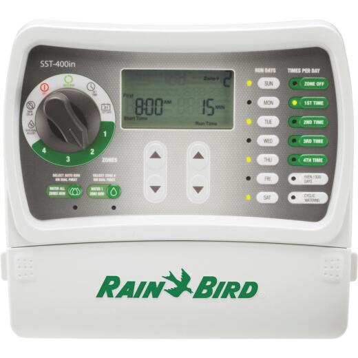 Rain Bird 4-Station Indoor Plug-In Irrigation Sprinkler Timer