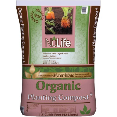 NuLife 1.5 Cu. Ft. 52 Lb. Organic Lawn & Garden Compost