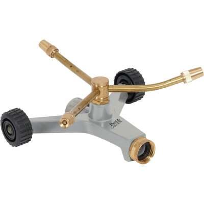 Best Garden Brass 40 Ft. Dia. 3-Arm Rotary Sprinkler