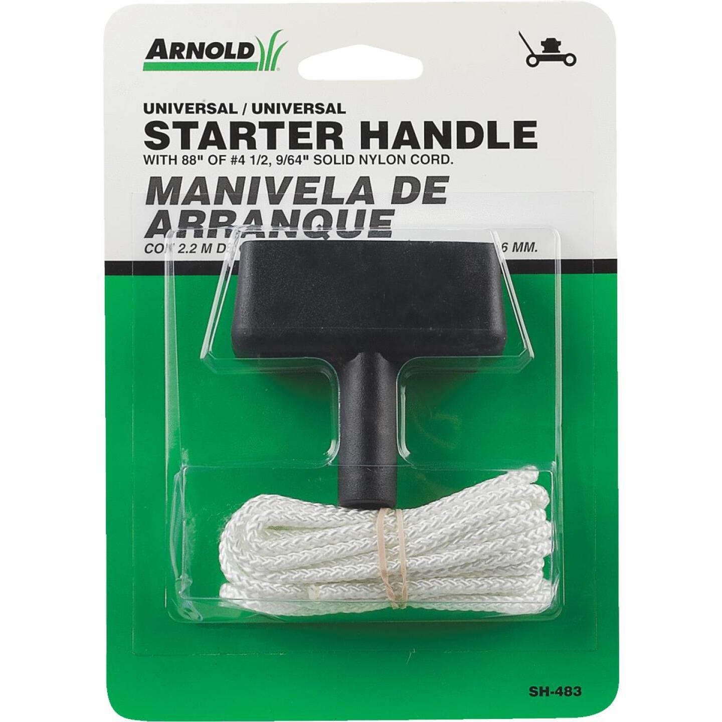 Arnold Engine Rubber Starter Handle & 88 In. Cord Image 2