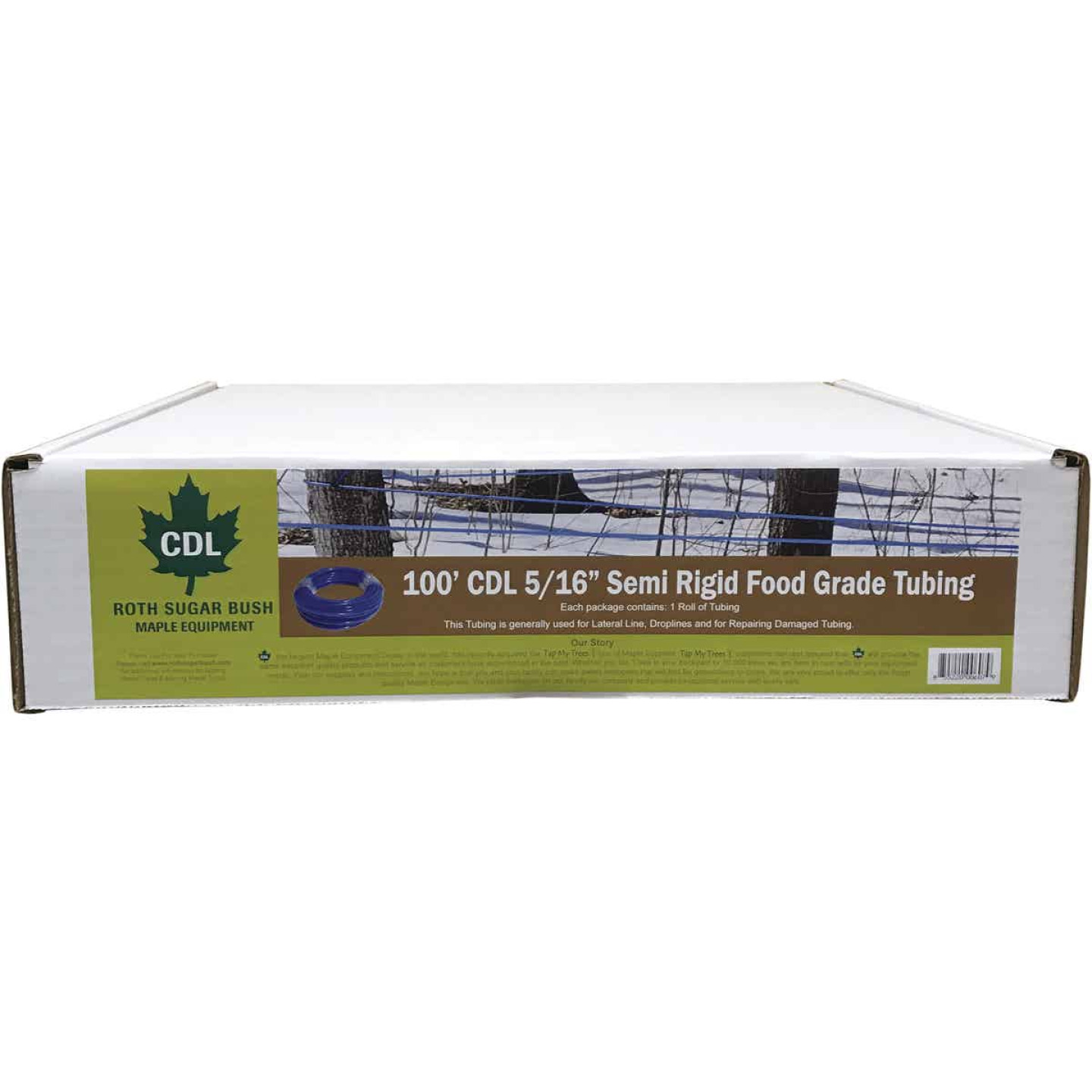CDL 5/16 In. x 100 Ft. Food Grade Maple Tubing Image 2