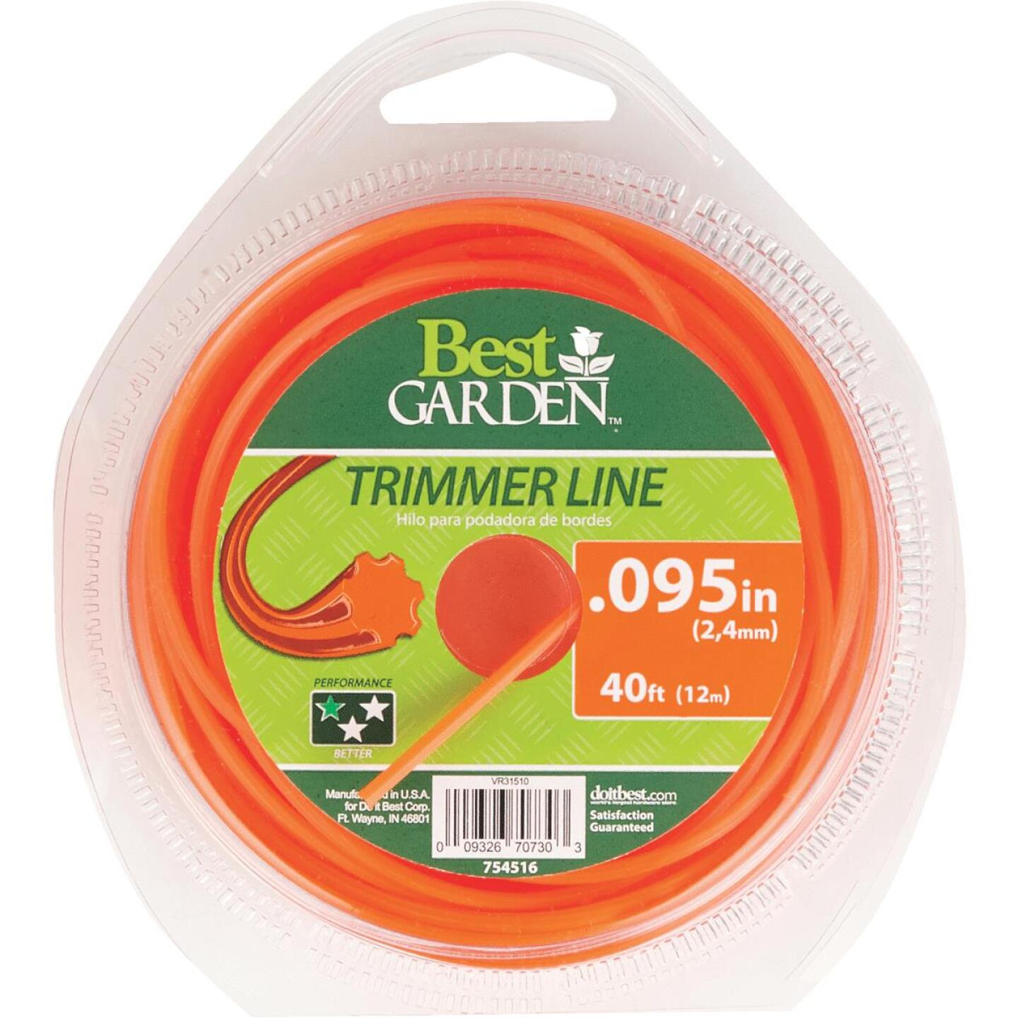 Best Garden 0.095 In. x 40 Ft. Round Trimmer Line Image 1