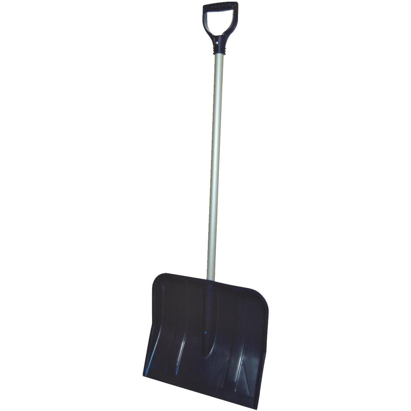 Rugg 18 In. Poly Snow Shovel with 35 In. Steel Handle Image 2