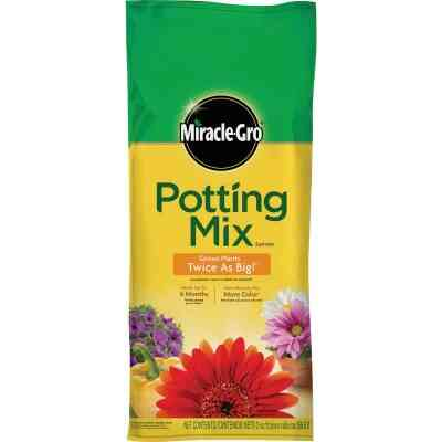 Miracle-Gro 2 Cu. Ft. 40-1/2 Lb. All Purpose Indoor & Outdoor Plants Potting Soil