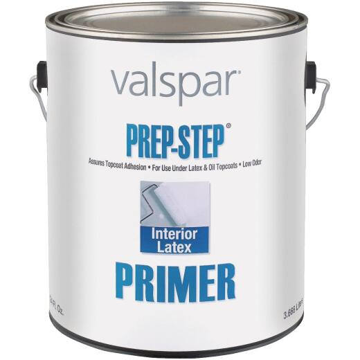 Valspar Prep-Step Interior Latex Wall Primer, White, 1 Gal.