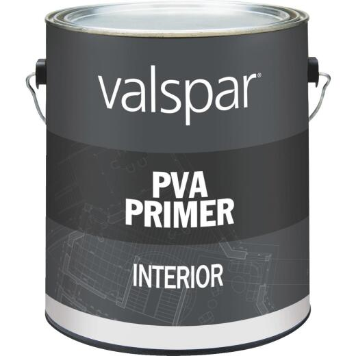 Valspar PVA Interior Latex Drywall Primer, White, 1 Gal.