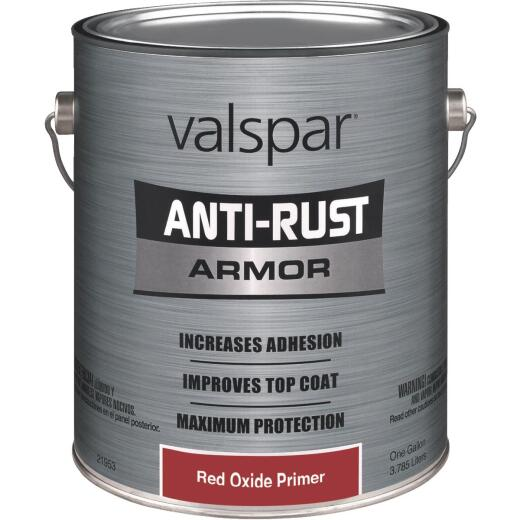 Valspar Anti Rust Primer, Red Oxide, 1 Gal.