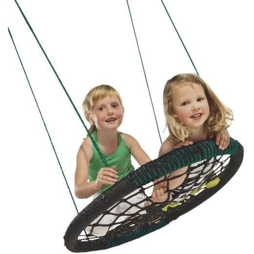 Swing N Slide Black Monster Web Swing
