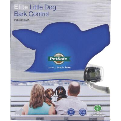Petsafe Deluxe 3V Black Little Dog Bark Control Collar